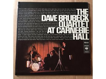2 LP - DAVE BRUBECK at Carnegie hall
