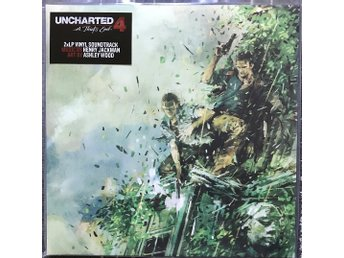 Henry Jackman - Uncharted 4: A Thief's End 2LP Nathan Drake, Playstation 4
