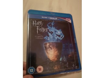 Harry Potter 4 Goblet of fire - bluray, splitterny! Inplastad.