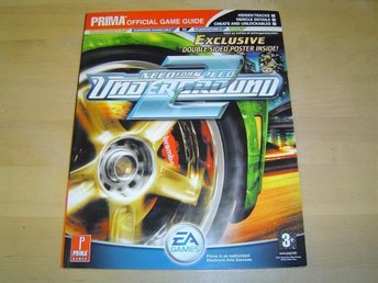 GUIDE NEED FOR SPEED UNDERGROUND 2 PS2 XBOX GC GBA PC *NY*