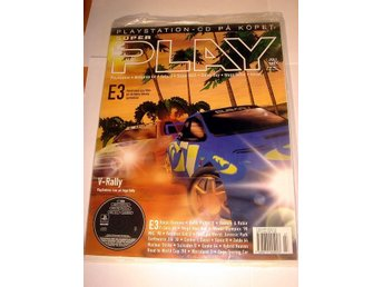 SUPER PLAY   NY CD Juli 1997    V-RALLY   I ORGINALINPLAST
