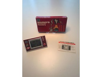 Mario's Cement Factory Game & Watch CIB