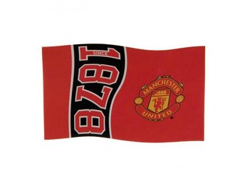 Manchester United Flagga Since