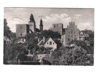 Visby - Vy från strandpromenaden ~1925 - Segeltorp - Visby - Vy från strandpromenaden ~1925 - Segeltorp