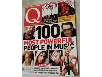 Musiktidningen Q  The Ultimate Rock'n'roll Magazine