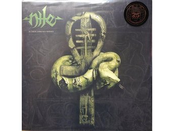 NILE-In Their Darkened Shrines-Ny 2LP LTD 1700ex Green/Gold-Download Code-Death