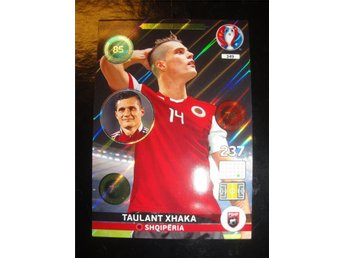 Panini Adrenalyn XL EURO 2016 - One To Watch MISPRINT - TAULANT XHAKA - Albanien