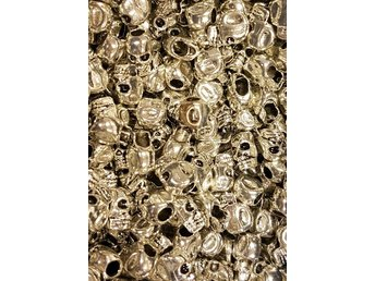 Metallbeads - Scull 25-pack