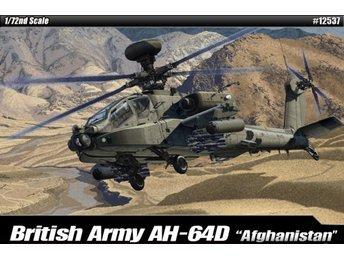 """Academy 1/72 AH-64D British Army """"Afghanistan"""" - Kil - Academy 1/72 AH-64D British Army """"Afghanistan"""" - Kil"""