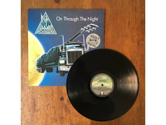 Def Leppard - On Through The Night LP | heavy metal hårdrock