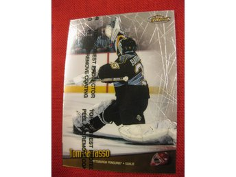 TOM BARRASSO PITTSBURGH PENGUINS - TOPPS FINEST 1998-1999 - 98-99