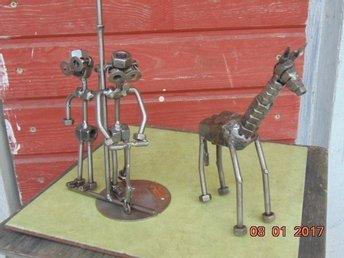 design. sculptures of metal HINZ & KUNST HEIGHT-20