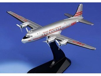 HM Douglas DC-4 - Trans World Airline - 1/200 scale. Nice!
