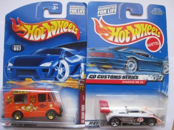 Leksaker Hot Wheels Cars Bilar Mattel - 2st Hot Wheels  - HWB 23