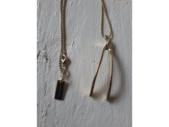 Halsband Marc By Marc Jacobs Wishbone guld
