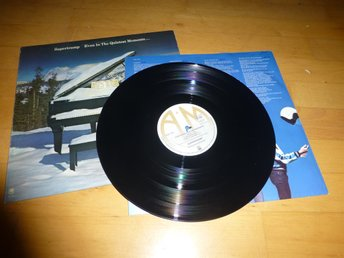 Supertramp - Even in the quitest moments - LP på vinyl.