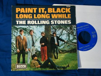 ROLLING STONES - Paint it black Decca Frankrike -66  singel