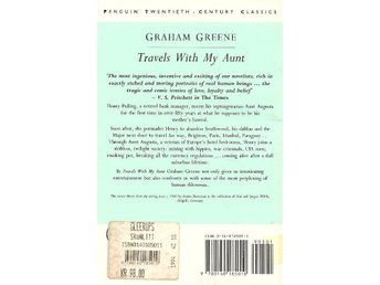 Graham Greene: Travels with my aunt.