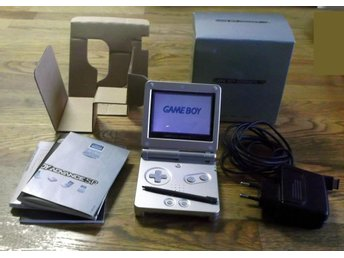 Nintendo Gameboy Advance SP AGS-001 Boxad Basenhet Komplett
