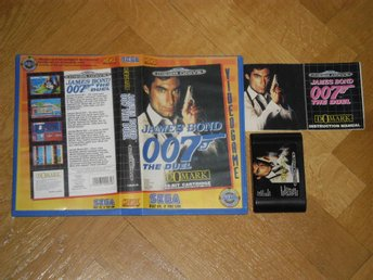 Sega Mega Drive: James Bond 007 The Duel (svenskt hyr-ex.)