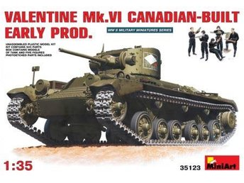 Miniart 1/35 Valentine Mk VI Canadian-Built Early Production - Skoghall - Miniart 1/35 Valentine Mk VI Canadian-Built Early Production - Skoghall