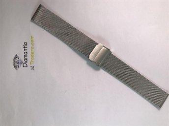 18 mm -- mesh länk -- NYTT -- klocklänk klockarmband -- länk i rostfritt stål - Boliden - 18 mm -- mesh länk -- NYTT -- klocklänk klockarmband -- länk i rostfritt stål - Boliden