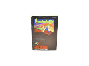 Lemmings (Manual Snes SCN)