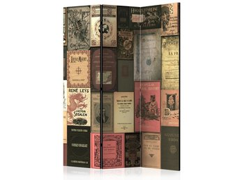 Rumsavdelare - Books of Paradise Room Dividers 135x172