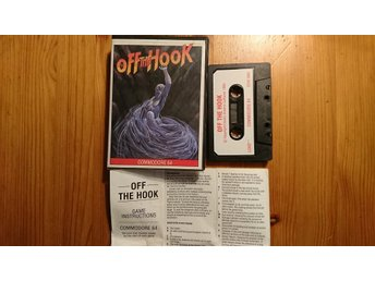 COMMODORE 64 originalspel... OFF THE HOOK