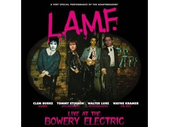 Lure Walter/Clem Burke: L.A.M.F. Live At Bowery (Vinyl LP)