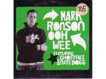 Mark Ronson-Ooh Wee/NYC rules / CD-singel feat. Ghostface