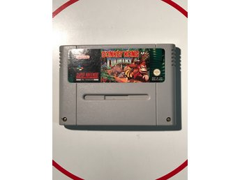 Donkey Kong Country Super Nintendo Snes Fint skick SCN