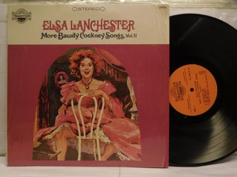 ELSA LANCHESTER - MORE BAWDY COCKNEY SONGS VOL. II