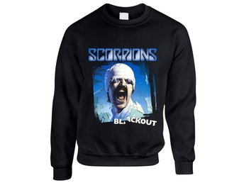 Scorpions - Blackout Sweatshirt Large