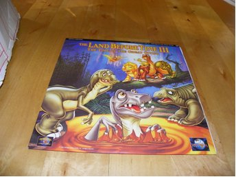 The land before time III - The time of the great giving- 1st Laserdisc