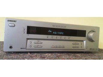 SONY STR-DE495P DOLBY SURROUND PRO-LOGIC CENTER RDS EON