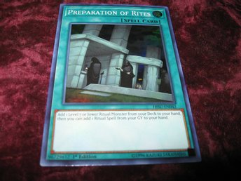 YU-GI-OH PREPARATION OF RITES FOILAT HISU-EN042