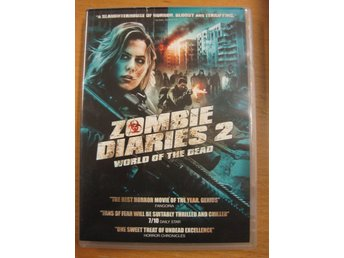 ZOMBIE DIARIES 2 : WORLD OF THE DEAD -  SKRÄCK - DVD