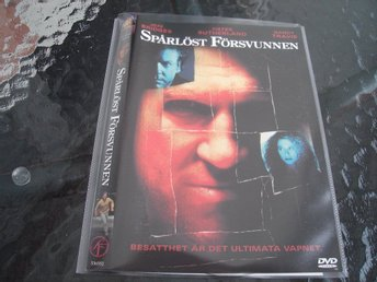 DVD-SPÅRLÖST FÖRSVUNNEN *Jeff Bridges, Kiefer Sutherland, Nancy Travis*