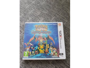 Nintendo 3ds. Pokemon Super Mystery Dungeon