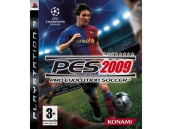 PES 2009 - PLAYSTATION 3 SPEL