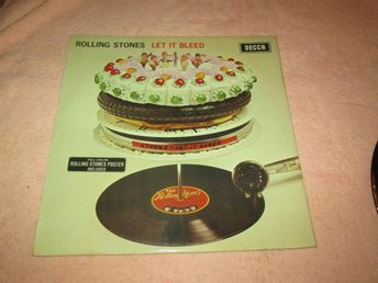 ROLLING STONES  LET IT BLEED  UK  MED POSTER