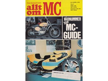 Allt Om Mc 1973-4 Dalesman 125..Mc-Guiden..Kurth-Monark 500
