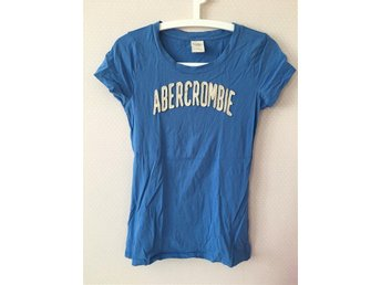 Blå tshirt tröja topp Abercrombie and Fitch New York - S/M