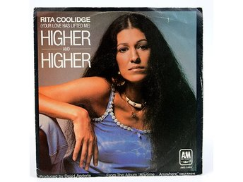 Rita Coolidge ‎–(Your Love Has Lifted Me) Higher And Higher AMS 5464 Singel 1977