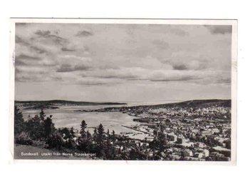 Sundsvall - Utsikt från Norra Stadsberget ~1948 - Segeltorp - Sundsvall - Utsikt från Norra Stadsberget ~1948 - Segeltorp