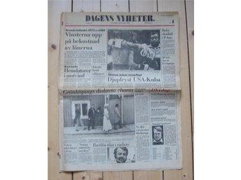 1983-07-06 Dagens Nyheter. - Helsingborg - 1983-07-06 Dagens Nyheter. - Helsingborg