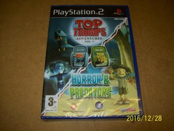 TOP TRUMPS HORROR & PREDATORS - NYTT INPLASTAD (PS2) - åstorp - TOP TRUMPS HORROR & PREDATORS - NYTT INPLASTAD (PS2) - åstorp