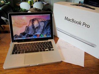 Macbook Pro 13 tum -2.5 Ghz - iCore 5. - 750 Gb HD. Bra Batteri. Årsm. 2012 - Mölndal - Macbook Pro 13 tum -2.5 Ghz - iCore 5. - 750 Gb HD. Bra Batteri. Årsm. 2012 - Mölndal