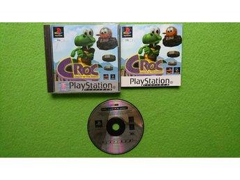 Croc SVENSK UTGÅVA KOMPLETT Playstation 1 PSone ps1 - Västerhaninge - Croc SVENSK UTGÅVA KOMPLETT Playstation 1 PSone ps1 - Västerhaninge